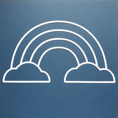 Simple Rainbow by Paige Evans pre cut cut file