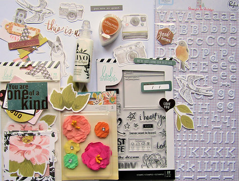 Regular Edition 2019 Quirky Kit Embellishments Kit