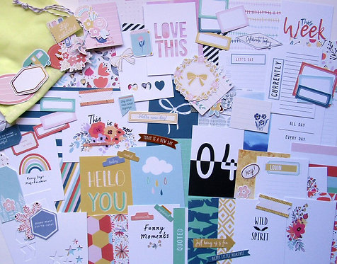 The Wild Ones Quirky Custom Card Kit
