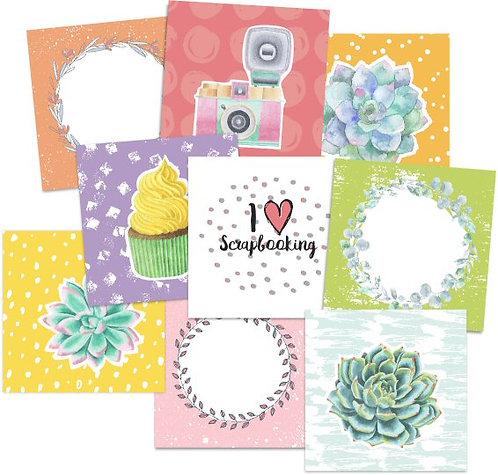 Rainforest Flip Cards Embellishments