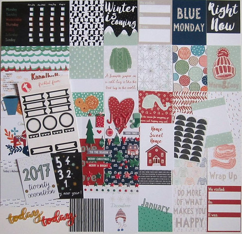 Hygge Quirky Kit Custom Cards