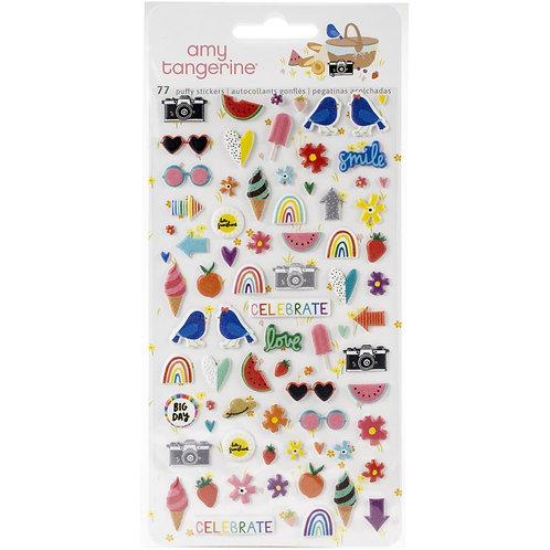 Amy Tan Picnic In The Park Mini Puffy Stickers