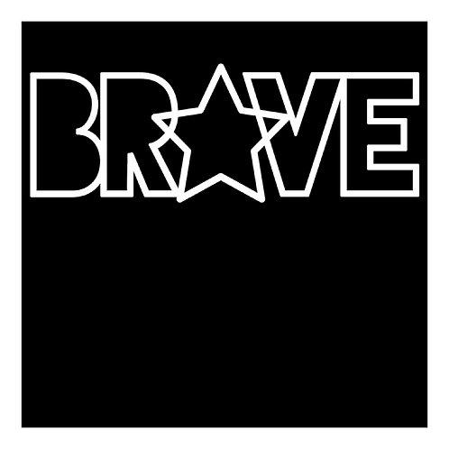 Brave by Paige Evans Title Cut Out