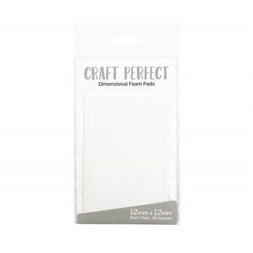 Craft Perfect 3D foam pads 12mm squares size