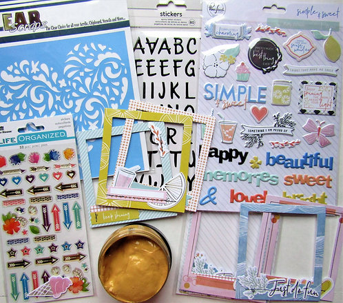 Queen of Hearts Quirky Kit Embellishment Kit