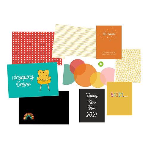 Nov/Dec 2020 Custom Card Kit Pocket Cards Set - Regular Edition