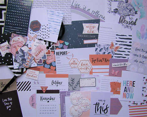 Folklore Quirky Kit Custom Card Kit