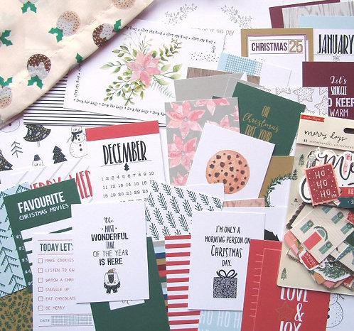 All Is Bright Custom Card Kit - Christmas Edition