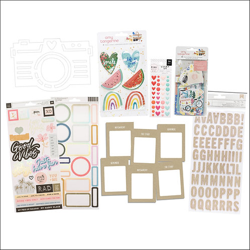 July/August 2020 Quirky Kit embellishment kit