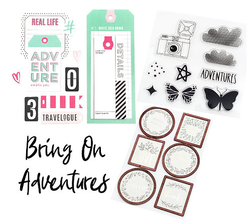 Bring On Adventures Embellishment Kit - Regular Edition