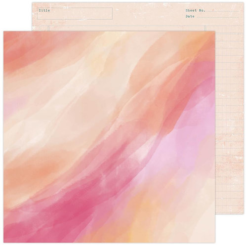 Heidi Swapp Care Free Sunset Patterned Paper