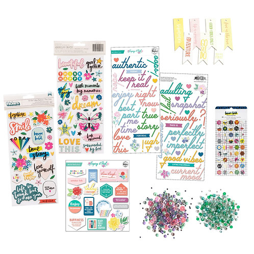 May/June 2021 Quirky Kit Embellishments