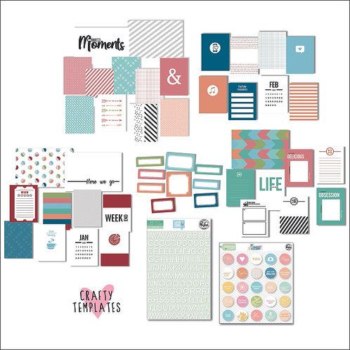 Jan/Feb 2020 Quirky Kit Custom Cards Subscription