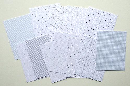 Grids and other Basics Pocket Card Set