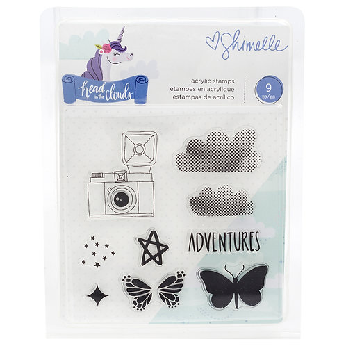 Shimelle Head in the Clouds Stamp Set