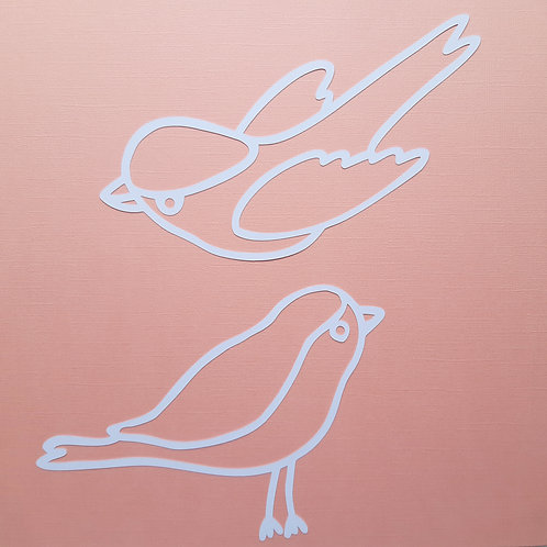 Birds Cut Outs