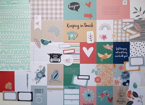 Jan/Feb 2021 Quirky Kit Custom Cards Kit
