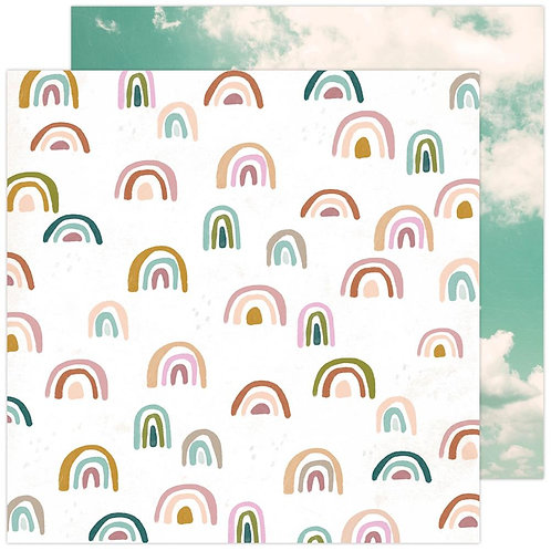Heidi Swapp Care Free Sunny Skies Patterned Paper