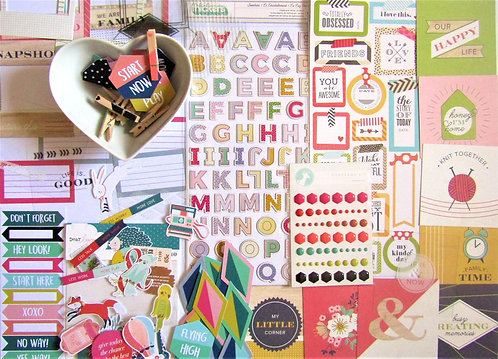Rhombus Quirky Kit Embellishments