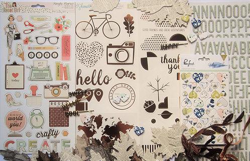 Ash Quirky Kit Embellishment Kit
