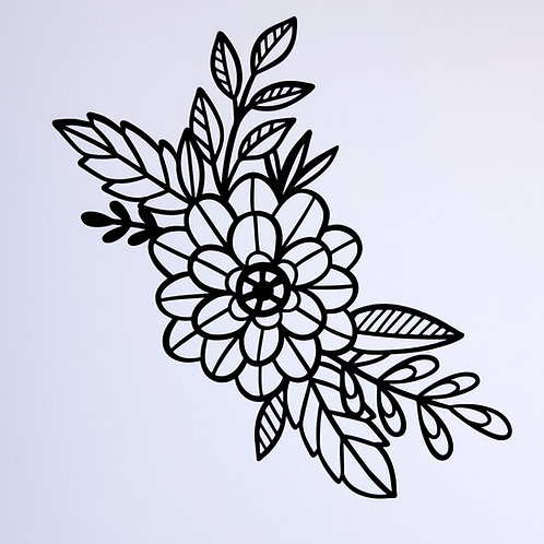 Pre Cut cut file - Flowers and Leaves