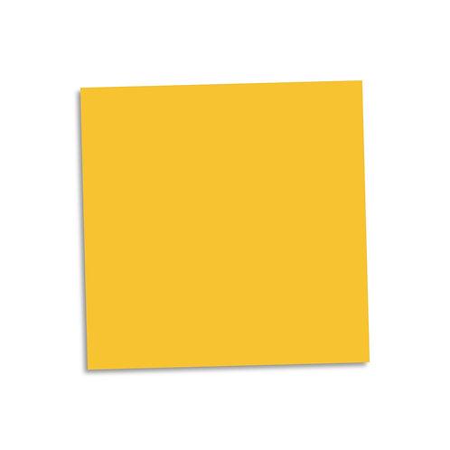 "Yellow smooth cardstock sheet 12""x12"""