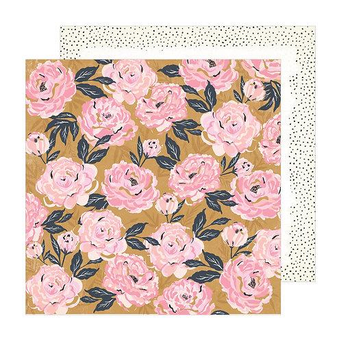 Crate Paper Sunny Days Splendor patterned paper sheet