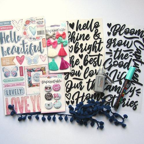 September/October 2019 Quirky Kit Embellishments Kit