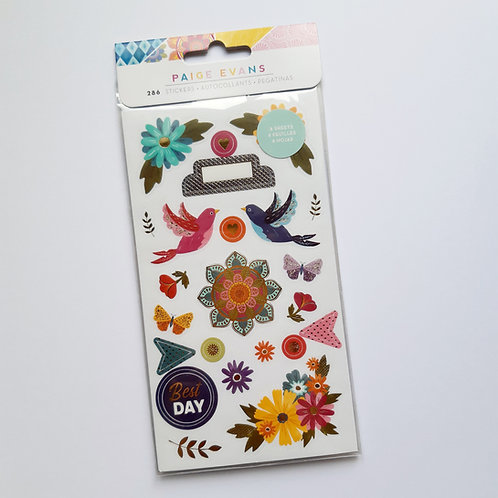 Paige Evans Wonders Sticker Book