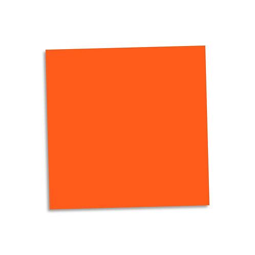 """Orange smooth cardstock sheet 12""""x12"""""""