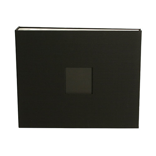 American Crafts D-ring album with page protectors 12x12 size