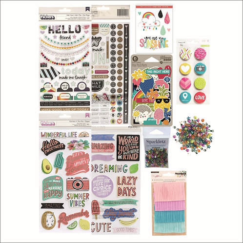 May/June 2019 Quirky Kit |Embelishments - Looking Up