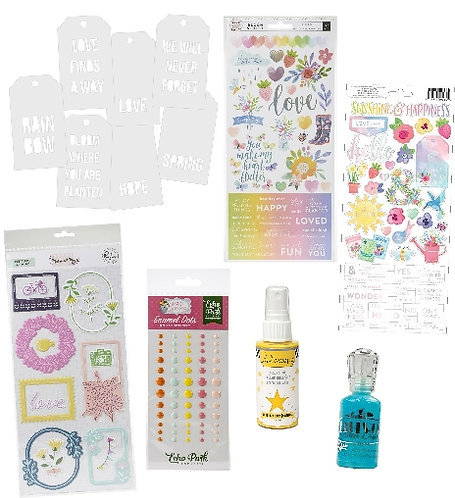 March/April 2020 Quirky Kit Embellishment Kit