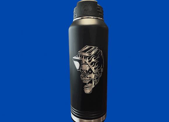 32 oz Welder Skull Water Bottle