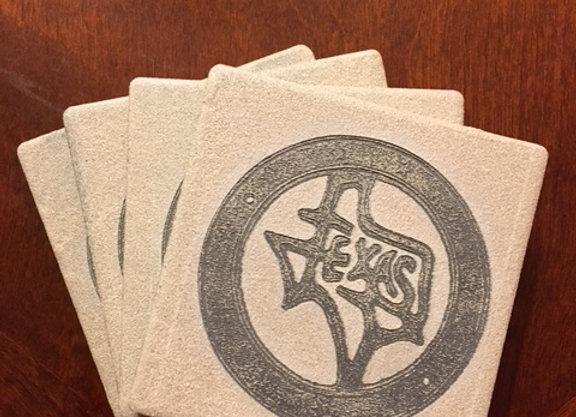 Custom Engrave Coaster Set