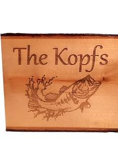 Custom Engrave Wood Sign