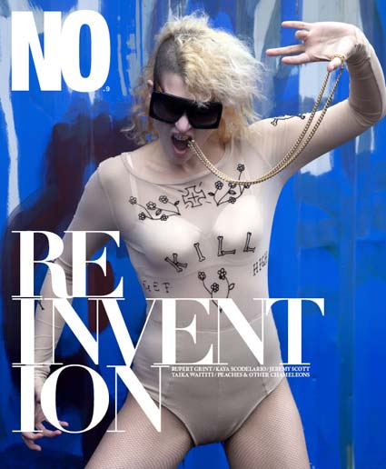 No magazine x Peaches