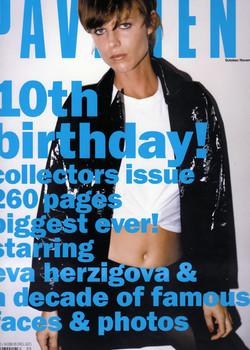 pavement magazine x Eva Herzigova