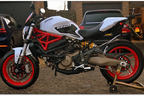 SOLD - 2018 Ducati Monster 821 just 2,500 miles