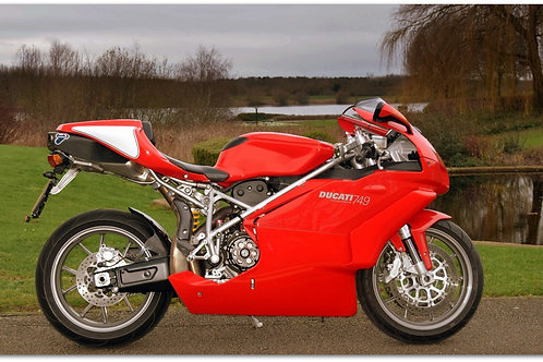 SOLD - 2005 DUCATI 749 Just 5,800 Miles!