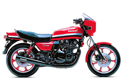 SOLD - 1983 KAWASAKI GPz 1100 JUST 17,000 MILES