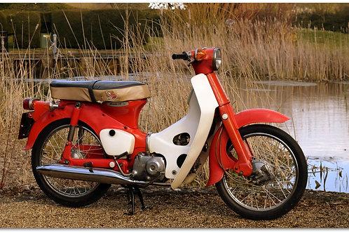 SOLD - 1967 HONDA C50 SUPER CUB