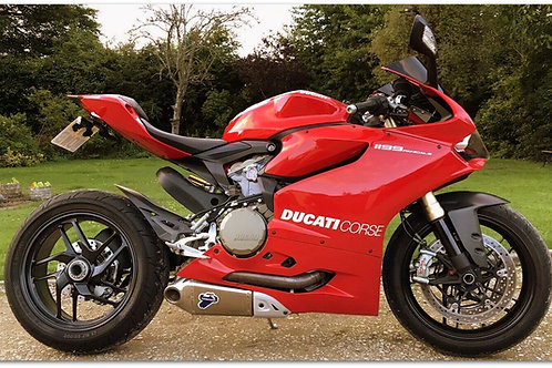 SOLD - 2013 DUCATI 1199 PANIGALE ABS