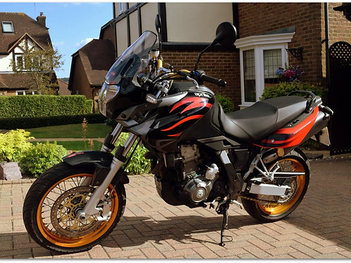 "SOLD - 2008 APRILIA PEGASO ""FACTORY"""