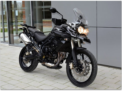 SOLD - 2014 TRIUMPH TIGER 800XC