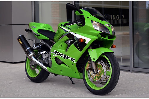 SOLD - 2003 CONCOURS ZX-9R JUST 5,000 MILES