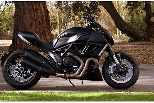 SOLD - 2013 DUCATI DIAVEL DARK JUST 3,700 MILES