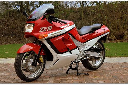 """SOLD - 1989 Kawasaki ZX10 """"Tomcat"""""""