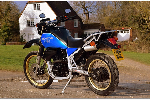 1986 Honda XLV750R