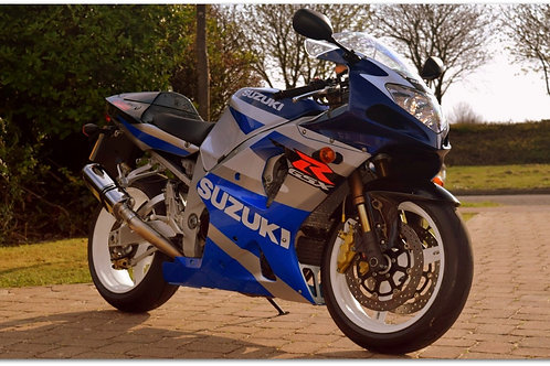 SOLD - 2002 (K2) SUZUKI GSX-R1000